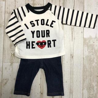 babyGAP - babyGAP Tシャツ付きロンパース  70