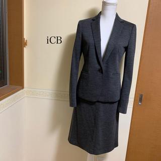 アイシービー(ICB)の白文鳥様専用 iCB レディース スーツ グレー サイズ4 トールサイズ(スーツ)
