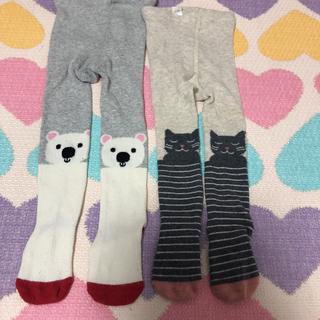 ベビーギャップ(babyGAP)のbaby GAP  アニマルタイツ  12〜24ヶ月(靴下/タイツ)