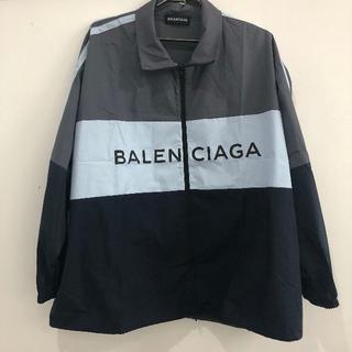 バレンシアガ(Balenciaga)のBALENCIAGAトラックジャケット(ナイロンジャケット)