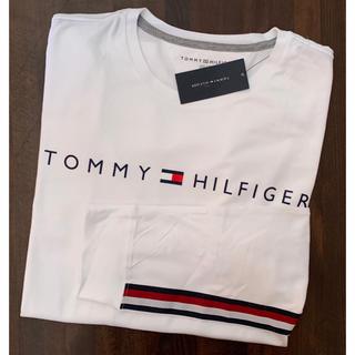 トミーヒルフィガー(TOMMY HILFIGER)の新品 新作 トミーヒルフィガー 長袖TシャツL(Tシャツ/カットソー(七分/長袖))