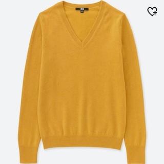 ユニクロ(UNIQLO)のにゃい様専用UNIQLO カシミヤVネックセーター EC 特別カラー(ニット/セーター)
