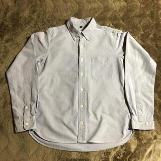 MUJI (無印良品) - 無印良品 ボタンダウンシャツ コットン