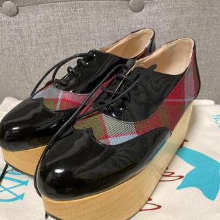 ヴィヴィアンウエストウッド(Vivienne Westwood)のVivienne Westwood ロッキンホース ギリーワールズエンドタータン(ローファー/革靴)