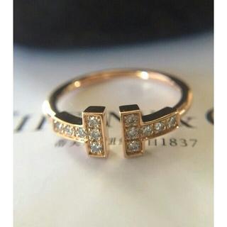 ティファニー(Tiffany & Co.)のティファニー ダイヤ Tワイヤー リング Tiffany & Co. 11(リング(指輪))