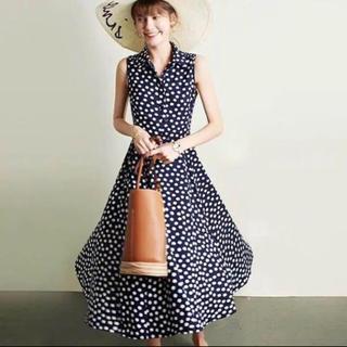 kate spade new york - ケイトスペード☆クラウドドットドレス