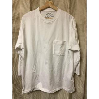 ニコアンド(niko and...)のアディコット7分袖Tシャツ(Tシャツ/カットソー(七分/長袖))