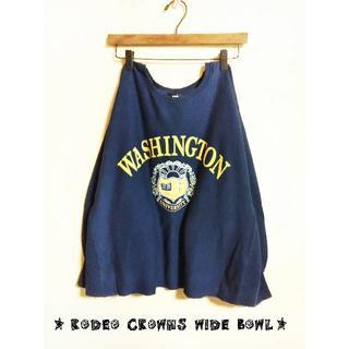 ロデオクラウンズワイドボウル(RODEO CROWNS WIDE BOWL)の✰RODEO CROWNS WIDE BOWL✰バルーン袖スウェット✰未使用品(トレーナー/スウェット)