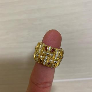 クロムハーツふうゴールドリング(リング(指輪))