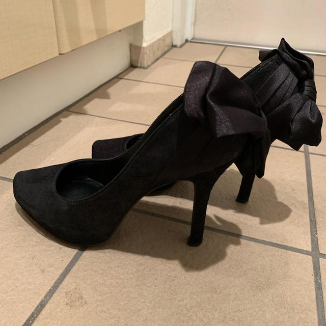 DIANA(ダイアナ)のDIANA バックリボンパンプス レディースの靴/シューズ(ハイヒール/パンプス)の商品写真