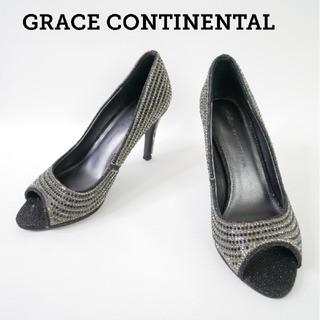 グレースコンチネンタル(GRACE CONTINENTAL)のGRACE CONTINENTAL グレースコンチネンタル キラキラハイヒール(ハイヒール/パンプス)