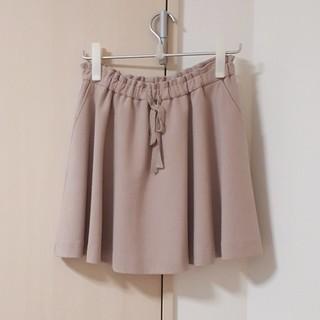 マーキュリーデュオ(MERCURYDUO)の2重織スカート(ピンク)(ミニスカート)