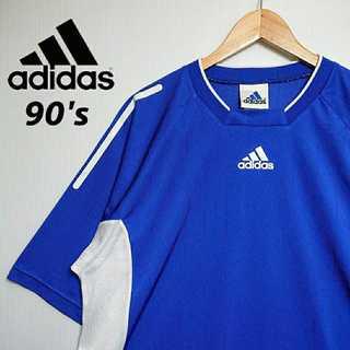 アディダス(adidas)のK031 90s 90年代 日本製 アディダス ゲームシャツ ビッグシルエット(Tシャツ/カットソー(半袖/袖なし))
