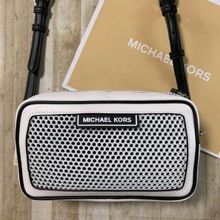 マイケルコース(Michael Kors)の新品 マイケルコース ホワイト スケルトン スポーティ ショルダーバッグ(ショルダーバッグ)