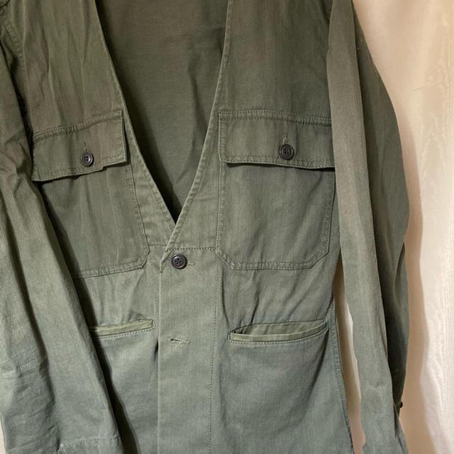 TODAYFUL(トゥデイフル)のTODAYFUL  カラーレス ミリタリージャケット レディースのジャケット/アウター(ミリタリージャケット)の商品写真