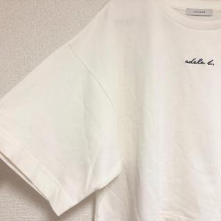 JEANASIS - 【Jeanasis】五分丈 ショートTシャツ
