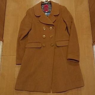 ドーリーガールバイアナスイ(DOLLY GIRL BY ANNA SUI)のドーリーガール  コート (キャメル)(ロングコート)