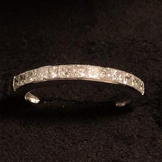 K18WG  プリンセスカット ダイヤモンド 0.50ct リング(リング(指輪))
