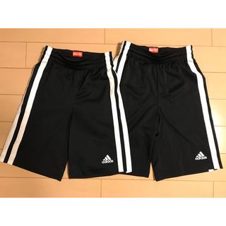 アディダス(adidas)のバスケット アディダスハーフパンツ2枚(パンツ/スパッツ)