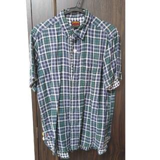 ビームス(BEAMS)の【BEAMS】メンズ 半袖シャツ チェックシャツ L(シャツ)