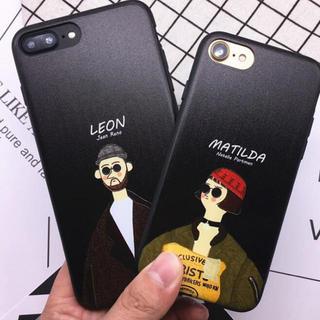 iPhoneケース カバーレオン マチルダソフト