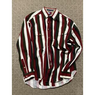 トミーヒルフィガー(TOMMY HILFIGER)のストライプ ワークシャツ (シャツ)