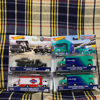 日産 - 新品 ホットウィール チーム トランスポート Dケース 4個セット