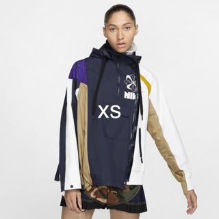 サカイ(sacai)のXSサイズ Nike Lab × sacai wmns ダブルジップジャケット(ナイロンジャケット)