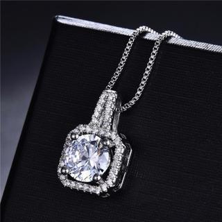 ハリーウィンストン(HARRY WINSTON)の【高品質】レディース czダイヤモンド デザイン ネックレス(ネックレス)
