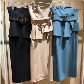 snidel - ハイウエストポンチタイトスカート