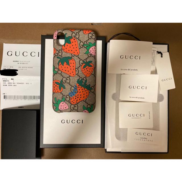 Gucci - GUCCI/ストロベリー/いちご/スマホケースの通販