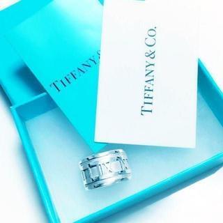 Tiffany & Co. - ☆新品☆未使用☆ティファニー アトラスワイドリング8号