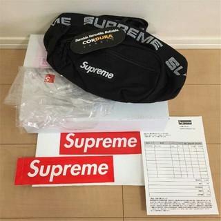 Supreme - supreme 18SS ウエストバック 黒