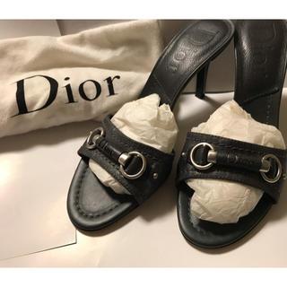 クリスチャンディオール(Christian Dior)のクリスチャン.ディオール ミュール(ミュール)
