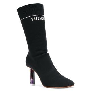 VETEMENTS ライターソックスブーツ 確実正規品 定価約14万円(ブーツ)