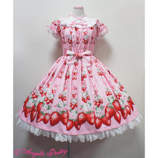 Angelic Pretty - Angelic Pretty Berry Gardenシャーリングワンピース
