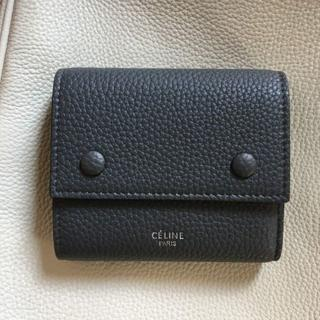 celine - セリーヌ三つ折り財布