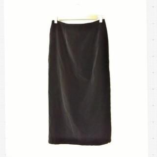 ローラアシュレイ(LAURA ASHLEY)の【未使用】ローラアシュレイ//スエードのスカート(ひざ丈スカート)