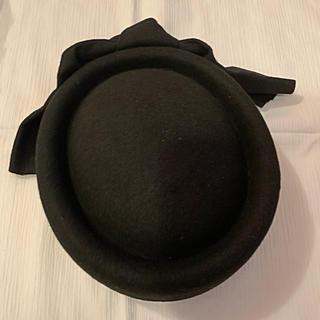 ローズバッド(ROSE BUD)のROSE BUD ウール帽子(ハンチング/ベレー帽)