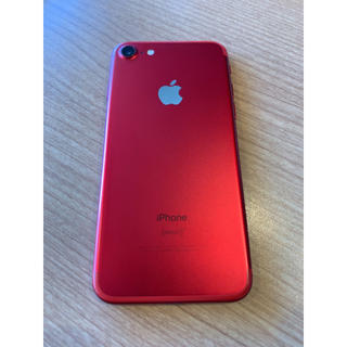 iPhone - 【超美品】iPhone 7 Red 128GB au SIMロック解除済み