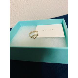 Tiffany&Coエルサ・ペレッティ オープン ハ―トスターリングシルバー5号(リング(指輪))