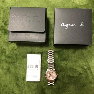 アニエスベー(agnes b.)のアニエス ベー 腕時計(腕時計)