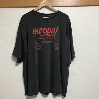 バレンシアガ(Balenciaga)の確実正規品 balenciaga Europa m(Tシャツ/カットソー(半袖/袖なし))