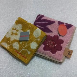シビラ(Sybilla)のマリクレール&シビラ☆タオルハンカチ2枚セット(ハンカチ)
