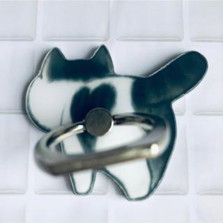 【全5種】ねこ ネコ 猫 バンカーリング   スマホリング