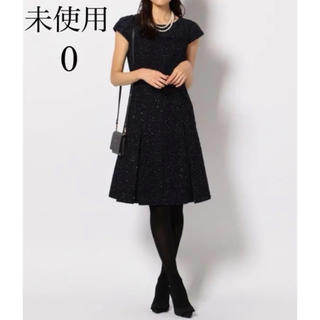 TOCCA - 美品 (新品) TOCCA BLISS ワンピース 0 紺 レース