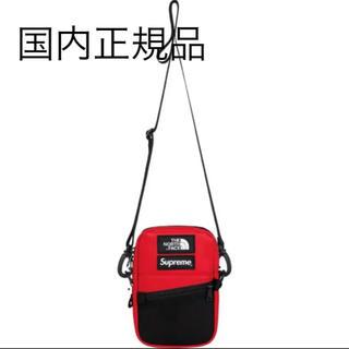 Supreme - シュプリーム × ノースフェイス Leather Shoulder Bag