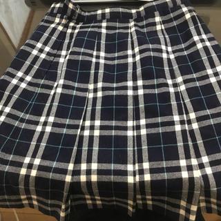 女子高生 スカート 古着 中古 ELLE プリーツ 制服