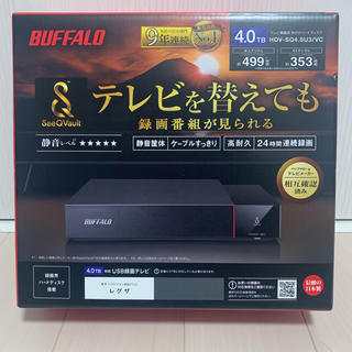 Buffalo - 【新品未開封】BUFFALO バッファロー hdv-sq4.0u3/vc