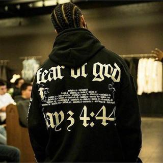 FEAR OF GOD - XLサイズ fear of god Jay-Z パーカー